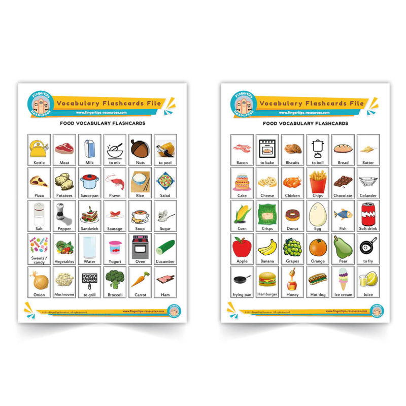 food - English Vocabulary Flashcards- ESL - www.FingerTips-Resources.com19