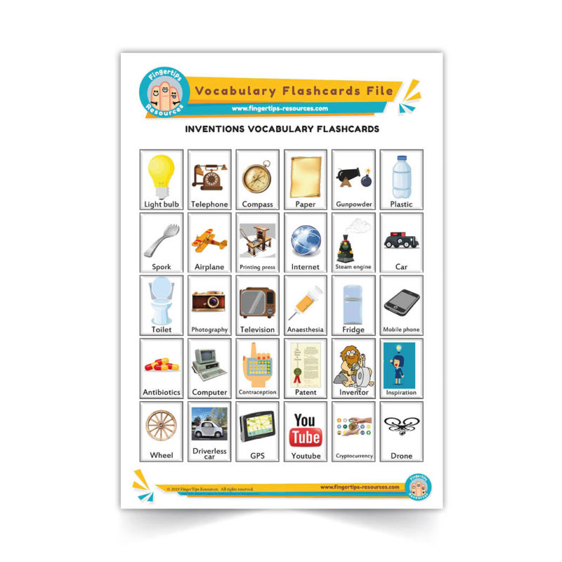 inventions - English Vocabulary Flashcards- ESL - www.FingerTips-Resources.com28