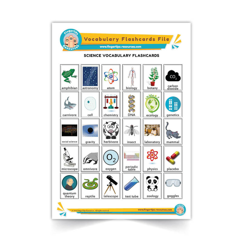 science - English Vocabulary Flashcards- ESL - www.FingerTips-Resources.com41